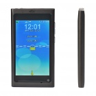 "N9 3,5 ""LCD Touch Screen Dual SIM Dual Network Standby Quadband GSM Cell Phone + Java - Black"