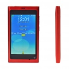 "N9 3,5 ""LCD Touch Screen Dual SIM Dual Network Standby Quadband GSM Cell Phone + Java - Red"