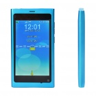 "N9 3,5 ""LCD Touch Screen Dual SIM Dual Network Standby Quadband GSM Cell Phone + Java - Blue"