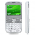 "Alcatel OT-800 2.2 ""TFT LCD Tri-Band GSM QWERTY Handy w / JAVA / TF / FM - White"