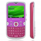 "Alcatel OT-800 2.2 ""TFT LCD Tri-Band GSM QWERTY Handy w / JAVA / TF / FM - Deep Pink"