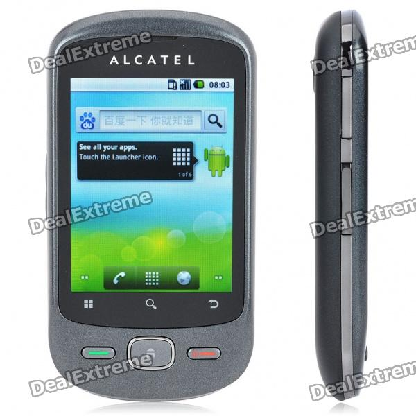 "ALCATEL OT-906 2.8"" Touch Screen Android 2.2 GSM UMTS 3G Cell Phone w/ GPS/Wi-Fi - Black"