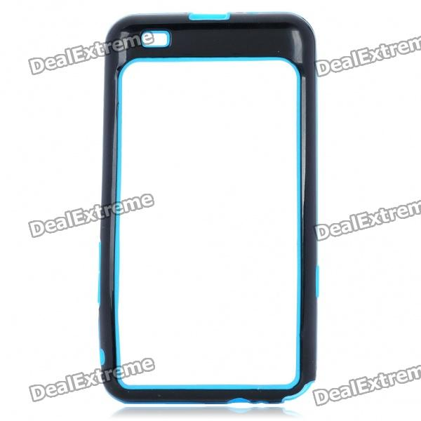 Protective Bumper Frame for Samsung i9100 Galaxy S2 - Blue + Black