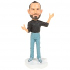 Remembering Steve Jobs Cute Resin Statue Figure Toy