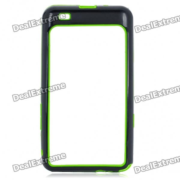 Protective Bumper Frame for Samsung i9100 Galaxy S2 - Green + Black