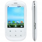 "ALCATEL OT-891 2,8 ""Touch Screen Android 2.1 Quadband GSM Handy w / GPS / Wi-Fi - White"