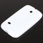 "Protective ""S"" Back Case for HUAWEI M865/C8650 - White"