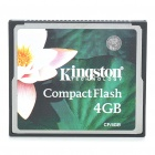 Genuine Kingston CompactFlash CF Memory Card (4GB)