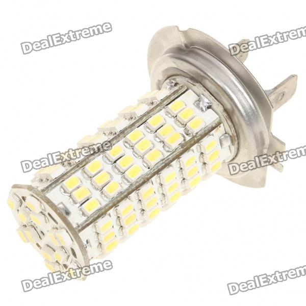 H7 4W 7000K 380-Lumen 120-3528 SMD LED White Light Car Bulb (DC 12~14V)