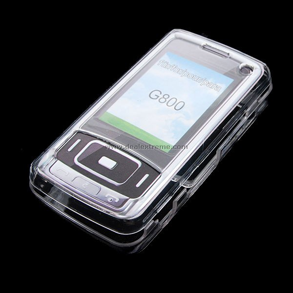 Crystal Case for Samsung G800 Phone (3-Pack)