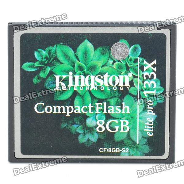 Genuine Kingston CompactFlash CF Elite Pro Memory Card (8GB)