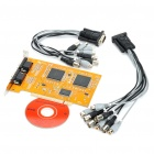 8 Channels PCI Surveillance Security Video Monitoring Capture Card
