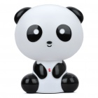 Cute USB Rechargeable Panda Style 9-LED White Light Desktop Lamp