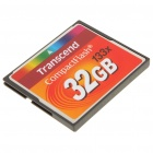 Transcend 133X Compact Flash CF карты памяти - 32 ГБ
