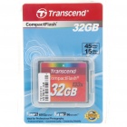 Transcend 133X Compact Flash CF Memory Card - 32GB