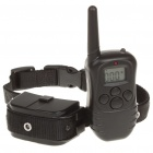 "0.9"" LED Remote Pet Training Collar - Black (2 x 4LR44/2 x AAA)"