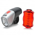 Complete Bike LED Kit - 6-LED Front + 5-LED Rear