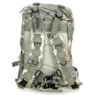 Tactical Outdoor Double Shoulder Backpack Bag - Army Green