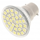 B22 5.5W 6500K 360-Lumen 30-5050 SMD LED White Light Bulb (AC 85~265V)