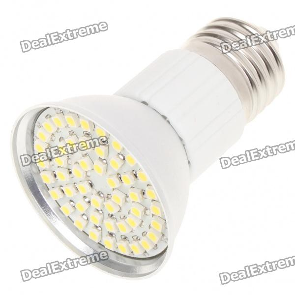 E27 3.5W 6500K 195-Lumen 48-3528 SMD LED White Light Bulb (AC 85~265V)
