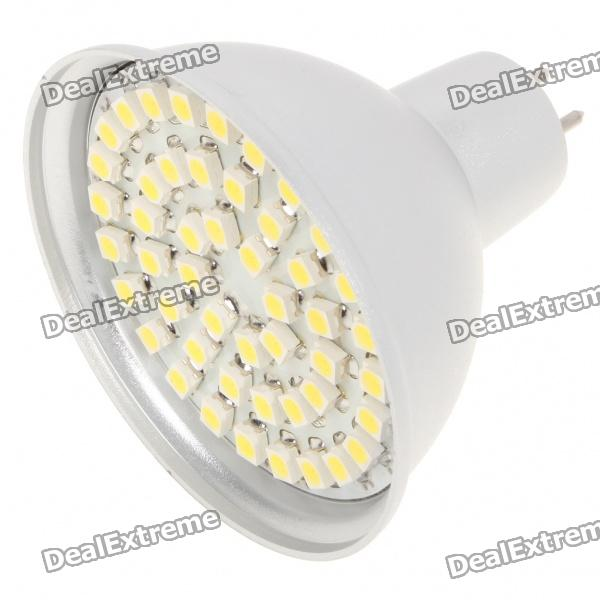 MR16 3.5W 6500K 195-Lumen 48-5050 SMD LED White Light Bulb (DC 12V)