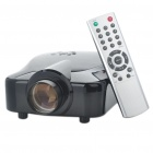 TWPJ230 Compact LED Projector with HDMI/VGA/AV-In/S-V/YPbPr/YCbCr - Black