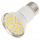 E27 5.5W 3500K 360-Lumen 30-5050 SMD LED Warm White Light Bulb (AC 85~265V)