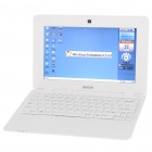 "IMOS WVC786 10 ""LCD Windows CE 6.0 Netbook w / WiFi/RJ45/3 x USB / SD - White (ARM V5/256MB/2GB)"