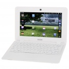 "IMOS A702 10 ""LCD Google Android 2.2 Netbook w / WiFi/RJ45/3 x USB / SD - White (ARM V5/256MB/2GB)"