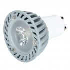 GU10 3W 7000K 160-Lumen White LED Light Bulb (220V)