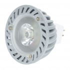 MR16 1W 7000K 110-Lumen White LED Light Bulb (12V)