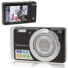DC-T500 5.0MP CMOS Digital Camera w/ 5X Optical/Digital Zoom/SD Slot (3.0