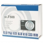 "DC-T500 5.0MP CMOS Digital Camera w/ 5X Optical/Digital Zoom/SD Slot (3.0"" Touch Screen)"