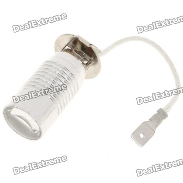 H3 5W 215-Lumen 2-Mode 1-LED Yellow Light Car Bulb (DC 12V)