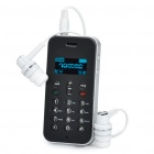 "0.9"" OLED Bluetooth V3.0+EDR A2DP/AVRCP/PBAP/MAP Stereo Headset (10-Hour Talk/200-Hour Standby)"