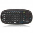 Ergonomic Handheld 2.4GHz Wireless 65-Key Keyboard w/ Receiver - Black