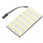 1.5W 6500K 145-Lumen 24-5050 SMD LED White Light Car Bulb w/ T10/SV85/BA9S Connectors (DC 12V)