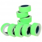 Price Labels for One-Line Price Tag Gun - Green (10 Rolls)