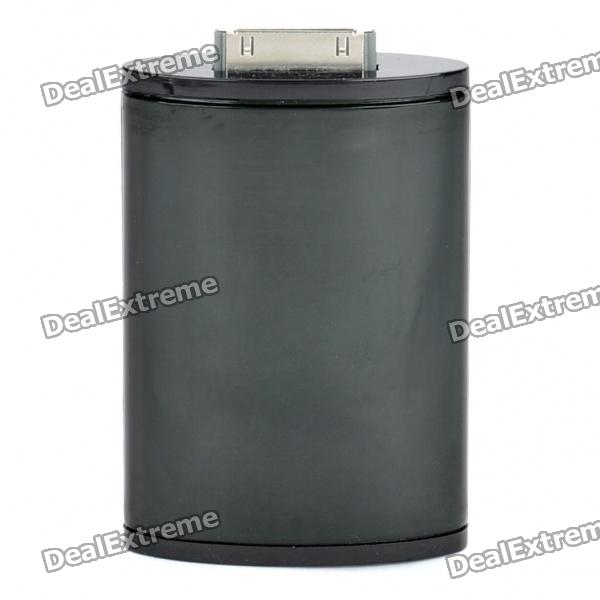 1200mAh Mobile External Battery Power Charger for iPod/iPhone 4S/ 4 / 3G / 3GS - Black