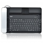 USB Rechargeable Bluetooth V2.0 Aluminum Alloy Cover 84-Key Keyboard w/ Telephone for Ipad/Ipad 2