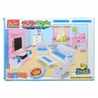 Buy 3D Fashion Furniture Models Building Blocks Educational Assembly Toy (1300-Piece Pack)