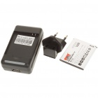 Replacement 3.7V 1400mAh Battery w/ Battery Charger Set for HUAWEI C8650 (AC 100~240V)