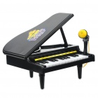 Simulation Electronic Piano Toy with 23-Key/15 Melodies/Voice Recording/Playback (3xAA)