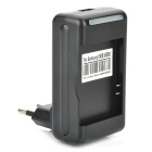 Battery Charging Dock w/ EU Plug Adapter for Samsung i9000 (AC 100~240V/2-Flat-Pin Plug)