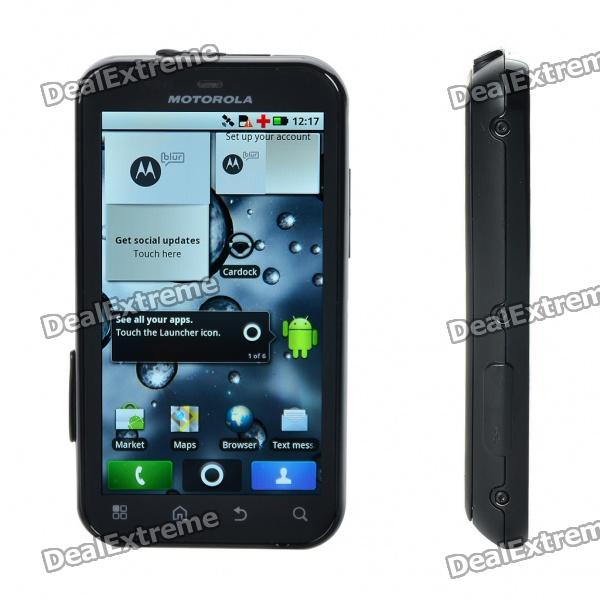 Genuine Motorola DEFY 3.7″ Capacitive Android 2.2 3G WCDMA Smartphone w/ WiFi + A-GPS – Black