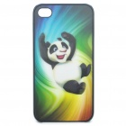 0.5mm Ultra Slim Protective Back Case with 3D Graphic for iPhone 4 - Kung Fu Panda