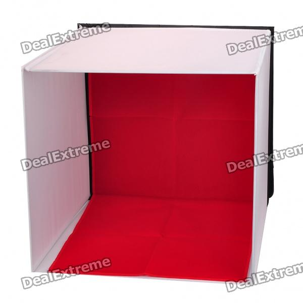 Professional Portable Mini Photo Studio Photography Box Kit - Black + White