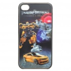 0.5mm Ultra Slim Protective Back Case with 3D Graphic for iPhone 4 - Bumblebee