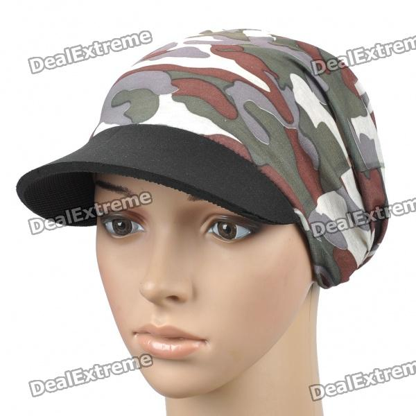 Stilvolle Camouflage Outdoor Travel Radfahren Hat / Cap