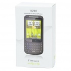 "H200 2.8"" Touch Screen Android 2.2 Qwerty Dual SIM Quadband GSM TV Cell Phone w/ Wi-Fi"